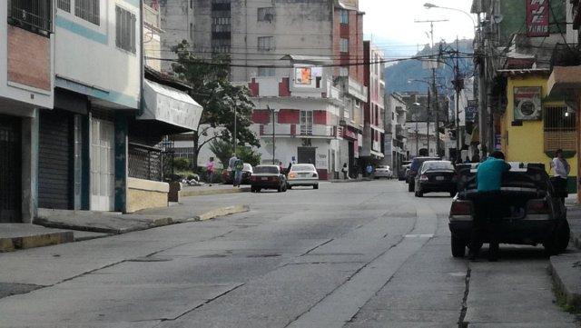 paro de transporte en Mérida