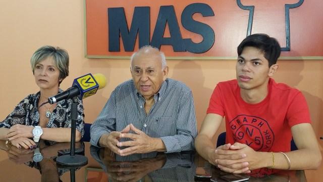 Segundo Meléndez, presidente Nacional del MAS (Foto: Prensa de Solidaridad)