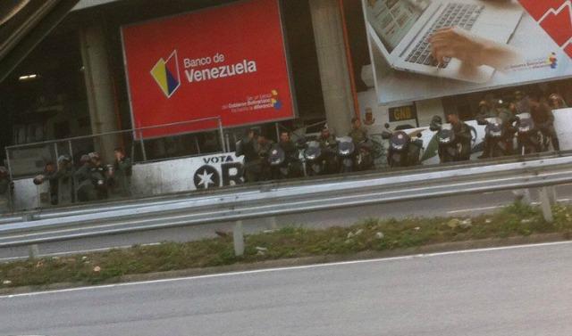 Foto: Los alrededores de Plaza Venezuela en Caracas