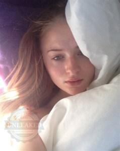 "¡OMG!… filtran foto íntima de la bellísima Sophie Turner, ""Sansa Stark"", de GOT"