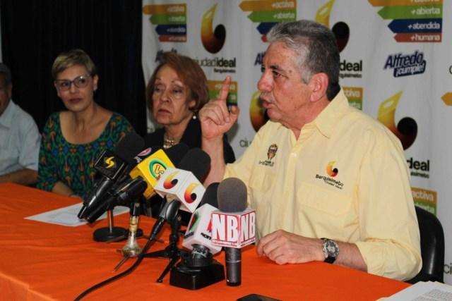 Alfredo Ramos, alcalde del municipio Iribarren