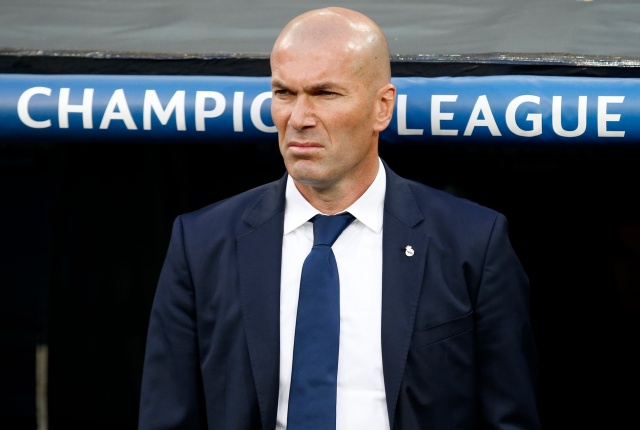 Zinedine Zidane, técnico del Real Madrid (Foto: Reuters)