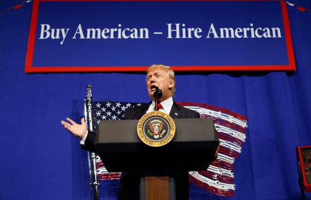 El presidente de EEUU, Donald Trump (Foto: Reuters)
