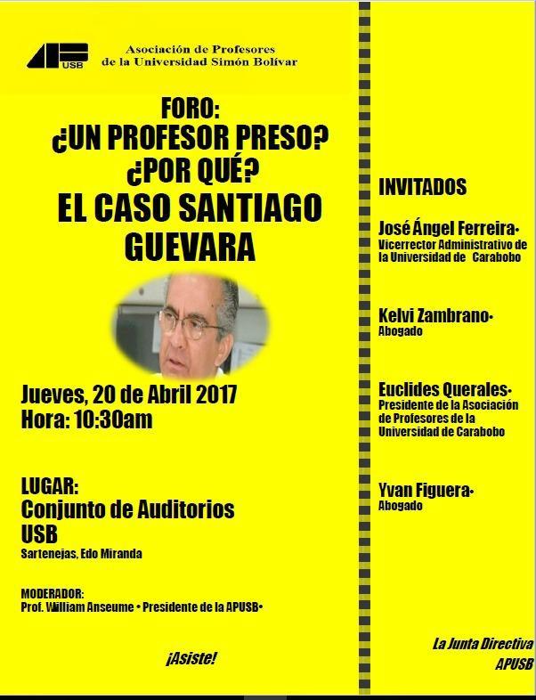 Santiago Guevara foro