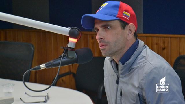 Capriles-Unión Radio