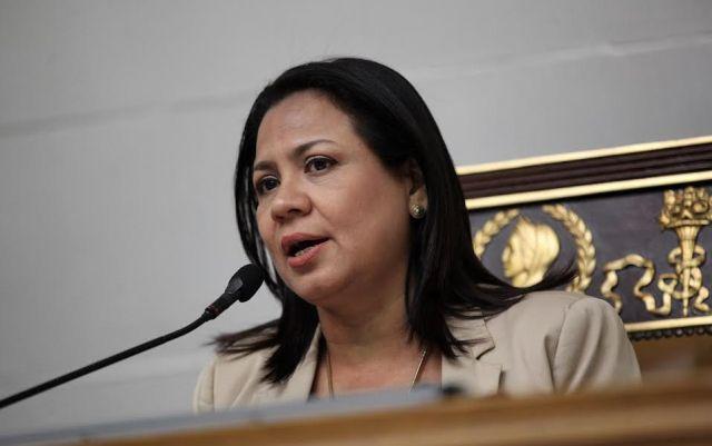 Dennis Fernández, 2da. vicepresidenta de la AN / Foto captura de TV