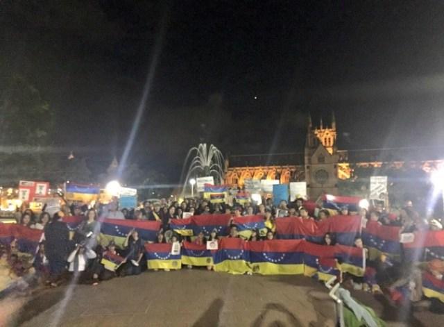 Venezolanos en sidney