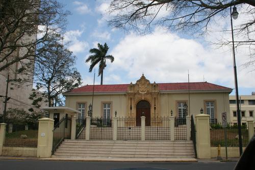 cancillería de Costa Rica