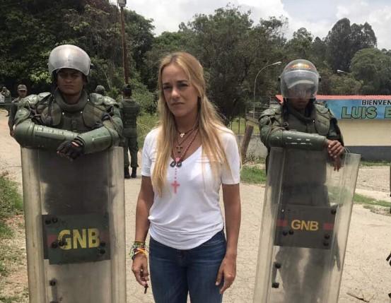 Lilian Tintori, esposa del preso político Leopoldo López