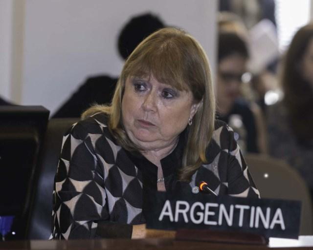 Susana Malcorra, excanciller de Argentina (Foto: EFE)