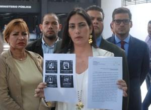 Diputados de Voluntad Popular exigen en Fiscalía investigar responsables de la represión contra el pueblo
