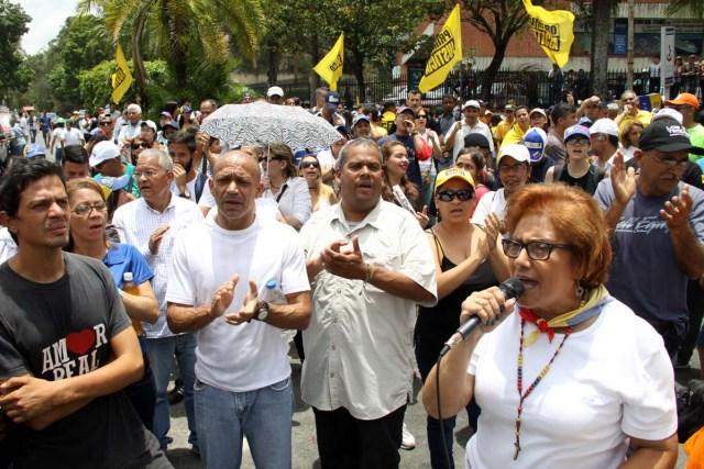 280417. Marcha Los Teques - Ramo Verde (1)