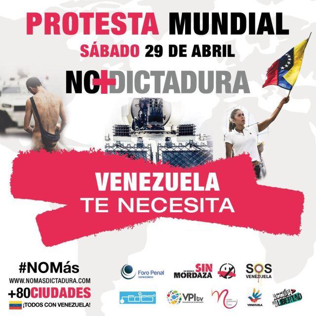 El llamado a la protesta muncial es para el #29Abr