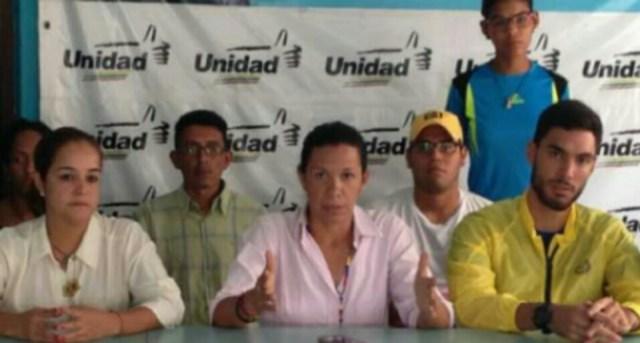 Bloque Parlamentario de Aragua realizó cruzada por la liberación de los presos políticos.