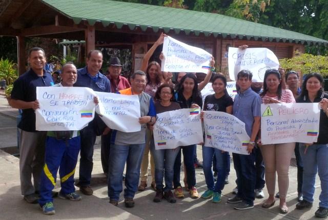 Trabajadores de la Universidad de Guayana