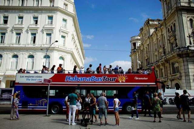 Turistas en La Habana (Foto archivo REUTERS/Alexandre Meneghini )