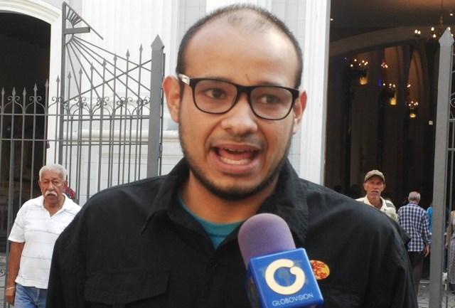 Carlos Julio Rojas, coordinador del Frente en Defensa del Norte de Caracas