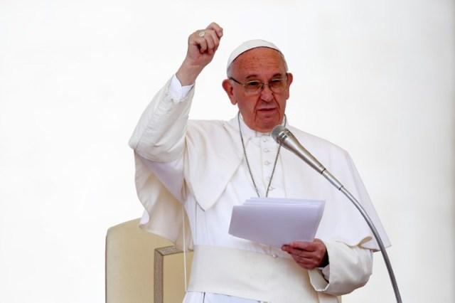 El Papa Francisco encabezó una audiencia especial para miembros de Acción Católica en la Plaza San Pedro en el Vaticano (Foto: Reuters)