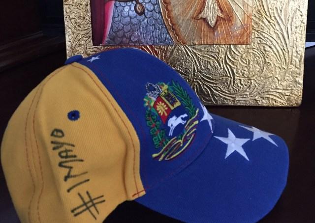Gorra que Henrique Capriles usa este  1May para la marcha opositora   Foto   hcapriles fadb18e8942