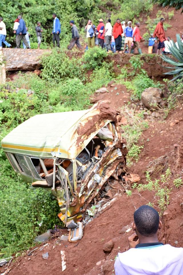 Accidente escolar en Tanzania/AFP