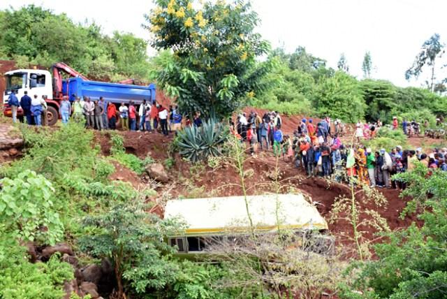 Accidente escolar en Tanzania