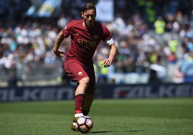 Francesco Totti. Foto: AFP