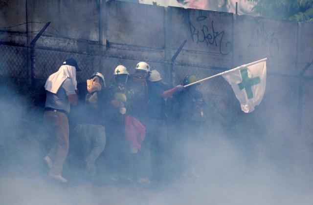 Represión en protestas en Caracas, Venezuela, May 10, 2017. REUTERS/Marco Bello