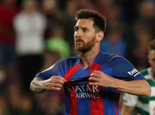 Messi fue condenado a 21 meses de cárcel por delito fiscal (Foto: Reuters)