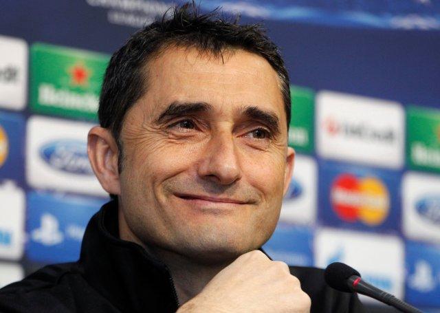 Ernesto Valverde sustituirá a Luis Enrique en el banquillo blaugrana (Foto: Reuters)