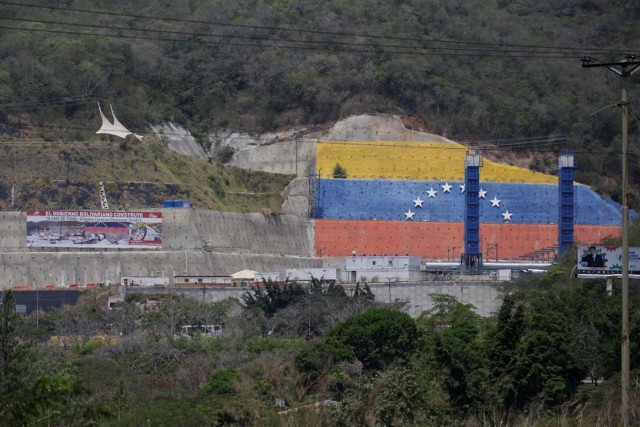 A view of a construction site by Odebrecht of the Caracas - Guatire metro rail project is seen in Guarenas, Venezuela March 28, 2017. Picture taken March 28, 2017. REUTERS/Marco Bello