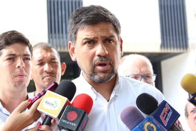 El alcalde del municipio Sucre, Carlos Ocariz exigió sanciones para quienes perpetraron hechos violentos en La Urbina y El Llanito