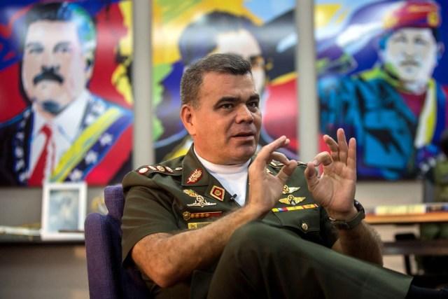 El ministro de Defensa, Vladimir Padrino López (Foto: EFE)