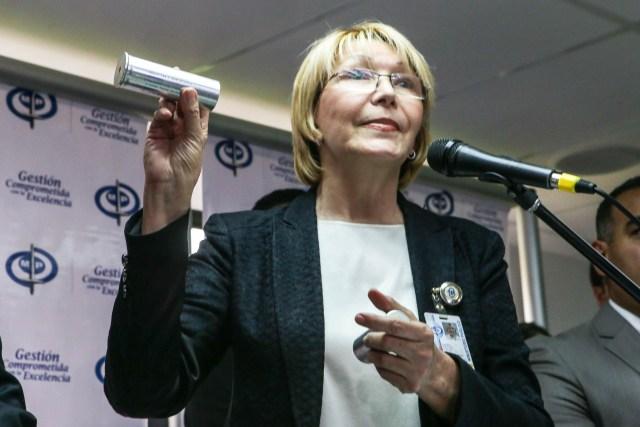 La fiscal general, Luisa Ortega Díaz (Foto: EFE)