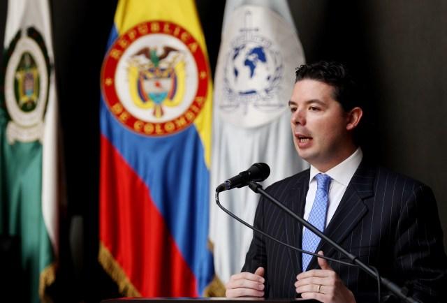 El viceministro colombiano se pronunció respecto a la situación fornteriza. EFE/Leonardo Muñoz