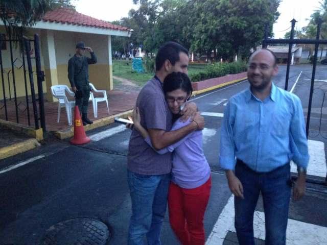 @sntpvenezuela / Liberación de Marcos Valverde