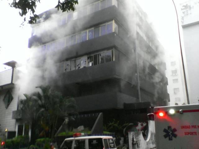 Incendio en sede administrativa de Corpoelec en el estado Carabobo