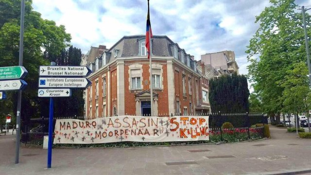 Embajada de Venezuela en Bélgica 16Mayo