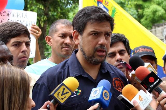 Carlos Ocariz, alcalde del municipio Sucre / Foto Prensa