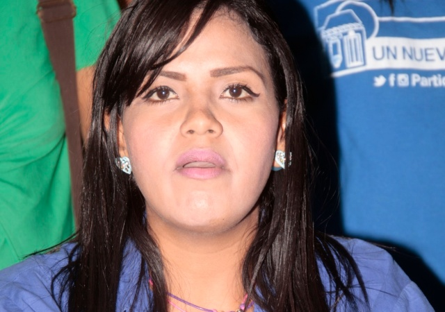 Arelis Marín, secretaria municipal de UNT en Ciudad Bolívar