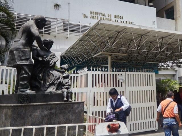 Hospital JM de los Ríos / Foto Archivo