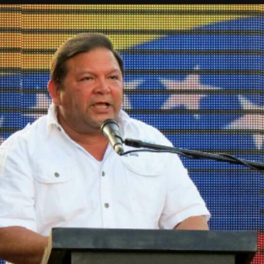 Andrés Velásquez, líder de la Unidad en Guayana