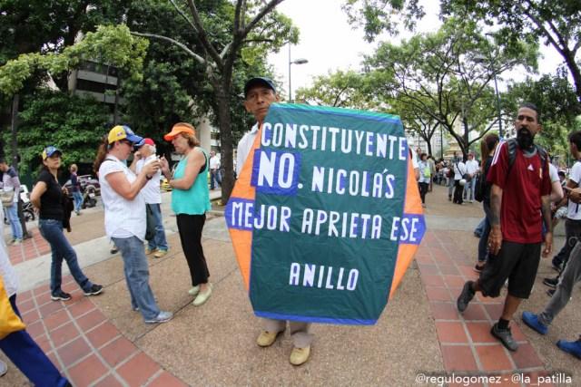 Lo que usted no vio de las manifestaciones de este #3May. Foto: LaPatilla.com / Régulo Gómez