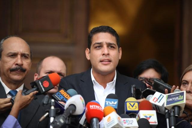 El diputado y presidente de la Subcomisión de Salud de la Asamblea Nacional, José Manuel Olivares