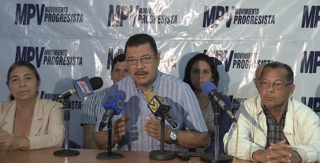 El secretario general del MPV, Simón Calzadilla (Foto: Prensa MPV)