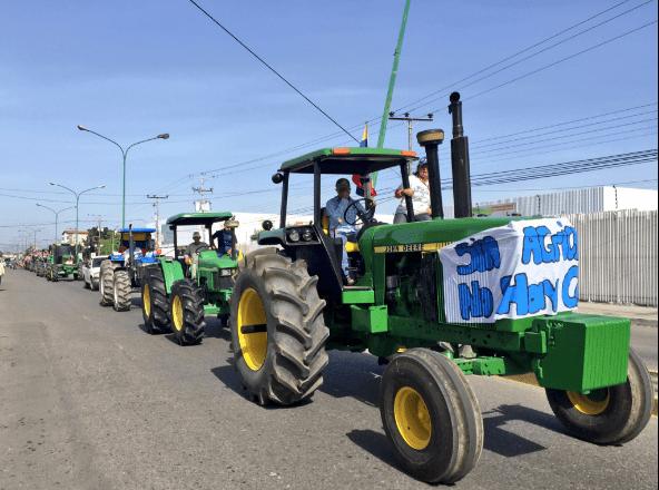 Productores tractorazo