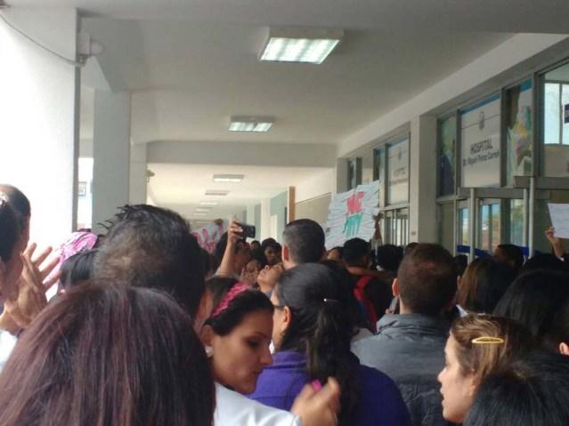 Protesta Perez Carreño