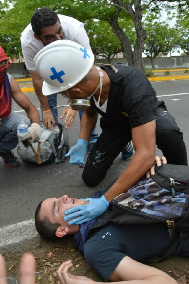 Reprimen a manifestantes en el Zulia