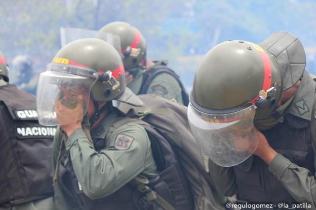 Represión en la Autopista Francisco Farjardo (10)