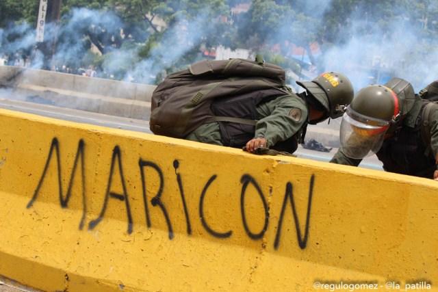 Represión en la Autopista Francisco Farjardo (12)