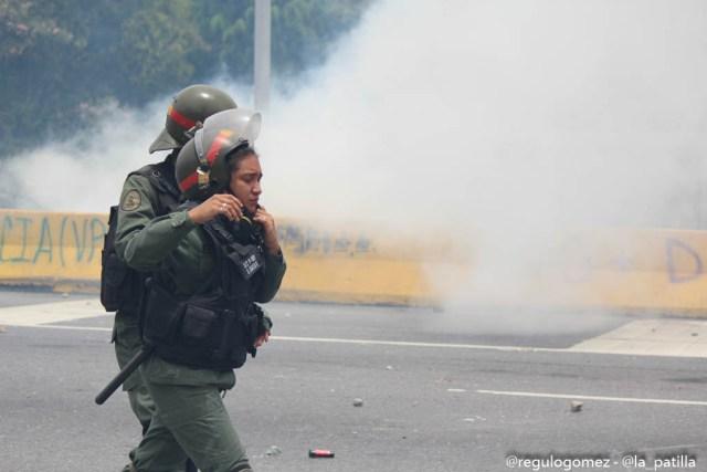 Represión en la Autopista Francisco Farjardo (9)